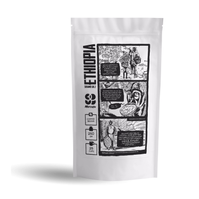 Купить Кофе молотый Эфиопия Sidamo gr.2 Abebe
