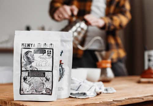 Кофейный бренд - Mercato